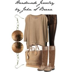 """Finds on Polyvore / """"Handmade Jewelry by John S Brana"""" by linseygreen on Polyvore"""