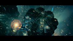 BLADE RUNNER drama sci-Fi thriller action city spaceship     fs wallpaper background