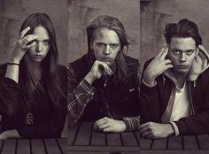 Eija, Valter, & Bill Skarsgard. I think these three look the most alike!