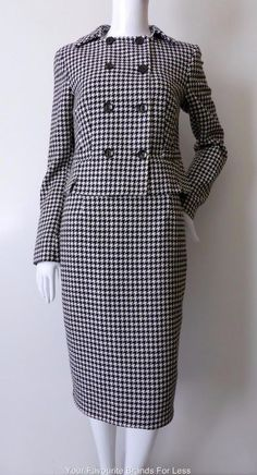 TAILORED BY NEXT Size 8 - 10 US 4 - 6 EUR 36-38 Wool Blend Skirt and Jacket Suit