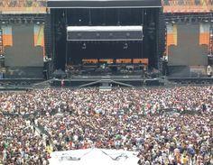 Concerto di Bruce Springsteen a Milano, 7 giugno 2012 ore 20. Foto di/via http://www.outune.net