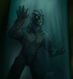 The fishman by Surk3.deviantart.com on @DeviantArt