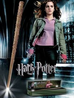 Harry Potter Harry Potter - Hermione Shiny Magic Stick figure doll toy ( parallel import ) @ niftywarehouse.com #NiftyWarehouse #HarryPotter #Wizards #Books #Movies #Sorcerer #Wizard