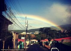A rainbow over Costa Rica by Global Study Ambassador Amelia