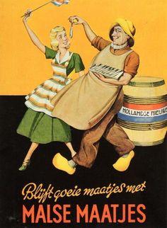 Vintage Poster - New Hering - The Netherlands.