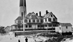 Throwing it back to the Barnegat Light House in 1890.
