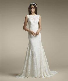 3f353e68 Mycket vacker klänning helt i spansk spets 😍 #brudklänning #weddingdress # brudekjole #promsandweddings
