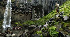 """""""Gran puerta"""" - ( 1280 x 691 px) - Luis Pulo - Mayo 5, 2012 - Fotomontaje - Licencia Creative Commons"""