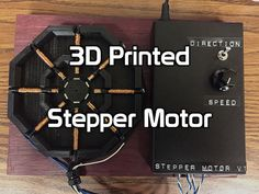 Picture of 3D Printed Stepper Motor