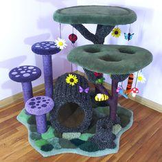 Crazy Cat Lady, Crazy Cats, Cat Castle, Cat Towers, Animal Room, Cat Condo, Cat Room, Pet Furniture, Cat Decor