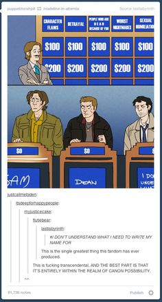LOLOLOL YES THIS. ALL OF THIS. THE CATEGORIES, THE FACES, CAS' SIGN. ALL OF IT.