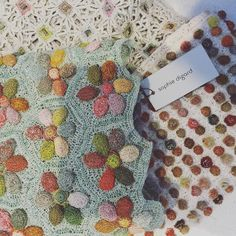 poppiwilliams: Sophie Digard hand crocheted scarves