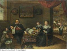 Der Zeichnungssammler und seine Frau - Onlinedatenbank der Gemäldegalerie Alte Meister Kassel