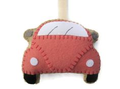 VW Beetle Plush Pink by GracesFavours on Etsy, £9.00