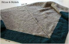 Stine & Stitch: Dreiecktuch à la Stine & Stitch