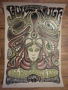 """Gov't Mule """"Mule-O-Ween 2009"""" poster"""