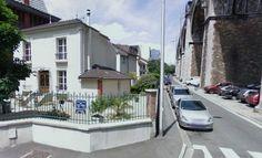 Emplacement actuel de la maison dans laquelle s'était réfugiés Garnier et Valet, 9 rue du Viaduc, à Nogent-sur-Marne.