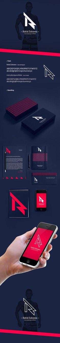 Rafal Zabawa Branding by Andrzej Grzesiak   Fivestar Branding – Design and Branding Agency & Inspiration Gallery