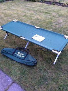Gelert Super Light Folding Camp Bed Aluminium FUT092