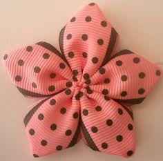 5 Petal Ribbon Flower