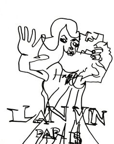 belle BRUT sketchbook: #lanvin #happy #fashion #style #illustration #blindcontour © belle BRUT 2014 http://bellebrut.tumblr.com/post/93745477150/belle-brut-sketchbook-lanvin-fashion-style