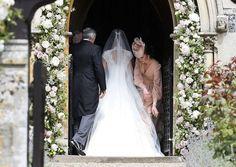 <p><em>[Photo: PA]</em> </p> Carole Middleton, Pippa Middleton Wedding Dress, Middleton Family, Pippas Wedding, Sister Wedding, Wedding Dresses, Wedding Outfits, Wedding Photos, Wedding Ideas