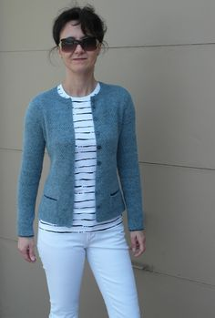 Ravelry: Wisdom pattern by Kim Hargreaves Knitting Designs, Knitting Patterns Free, Knit Patterns, Ravelry, Knit Cardigan Pattern, Knit Jacket, Mantel, Knitwear, Knit Crochet