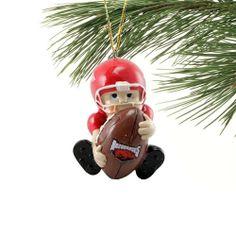 Arkansas Razorbacks Lil' Fan Football Player Acrylic Ornament