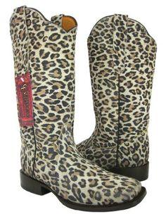 Cowboy Professional - Womens Wide Sand Full Leopard Cowboy Boots Square  Toe, Custom Cowboy Boots 51ba7e33b7