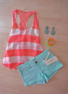 Simple summer outfit .. Super cute!