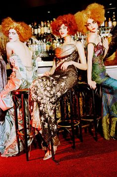 The Eccentric Ones, 2007Photographer: Ellen von Unwerth Christian Dior, Fall 1997 Couture