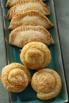 Borekas and bollos (round), traditional Sephardic pastries for Rosh Hashanah (Jewish New Year) in San Francisco, Calif., on September 18, 2008. Food styled by Emma Sullivan. Photo: Craig Lee, The Chronicle