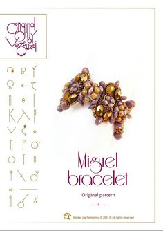 Perline tutorial braccialetto di modello / di beadsbyvezsuzsi
