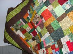 colcha de retalhos em patchwork dupla face R$ 990,00