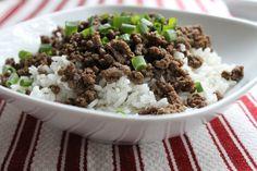 See Aimee Cook: Super Easy Korean Beef Over Rice