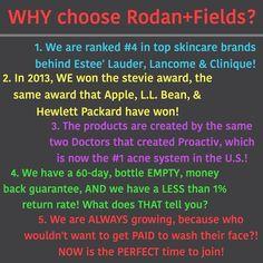 Why join Rodan + Fields? http://kristensheppard.myrandf.biz/ca