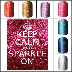 Who doesn't love a little sparke in their lives? #nails #nailart #jamberrynails