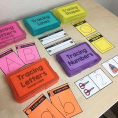 Basic Skills Task Boxes (for Pre K and Special Education) Preschool Learning Activities, Preschool Curriculum, Kindergarten Classroom, Educational Activities, Kids Learning, Sorting Activities, Classroom Setup, Early Finishers Kindergarten, Differentiated Kindergarten