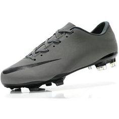 http://www.asneakers4u.com Sale Nike Mercurial Vapor VII TPU FG 2012 New Cristiano Ronaldo Soccer Cleats Gray Black