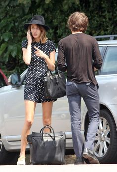 Alexa Chung and Alex Turner