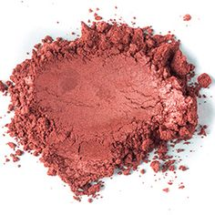 Our Passionata Mica is bold and daring showcasing high luminescence and color. The Passionata Mica is a strong-toned, warm metallic red with peachy undertones. Shimmery and expressive when added to lip balm and lip gloss!