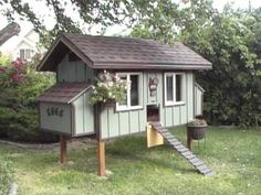 CleanCoops.com will show you how to build a chicken coop that looks great and adds value to any backyard!