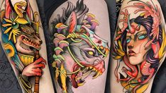 Löwen Tattoos in unserer Galerie der Woche Dublin, Cool Back Tattoos, Neo Traditional Tattoo, Tattoo Artists, Ink, Google Images, Traditional Tattoos, India Ink