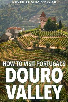 Do not miss visiting the gorgeous vineyards of the Douro Valley in northern Portugal! Here's a full guide to help you enjoy this region! The Douro Valley: Exploring Northern Portugal's Wine Region Best Beaches In Portugal, Portugal Vacation, Portugal Travel Guide, Europe Travel Guide, Portugal Trip, Lisbon Portugal, Douro Portugal, Visit Portugal, Spain And Portugal