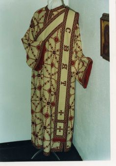 Ukrainian embroidered church vestments