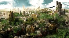 Post-Apocalyptic Concept Art | Matthew Watts Art: Post apocalyptic concept art 2