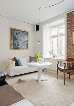 Swedish Inspiration - White Apartment in Goteborg 3