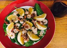 Orange Pecan Shrimp Salad - Never knew that oranges and pecans would be such a great combination. And I just love to stumble upon them especially when they give me that zesty kick.