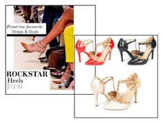 """""""Rockstar Heels"""" by dreampairs ❤ liked on Polyvore"""