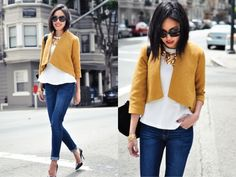 Loving this girl's blog. If you just started your 1st job, these are good for non-frumpy office wear